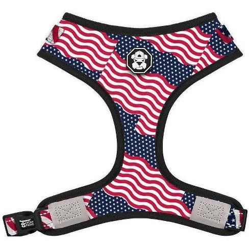 Fresh Pawz Pride Flag Adjustable Mesh Dog Harness - S - image 1 of 2