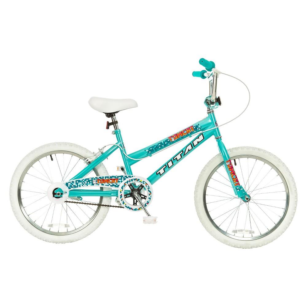 Kids Titan Tomcat Bmx Bike - Teal Blue