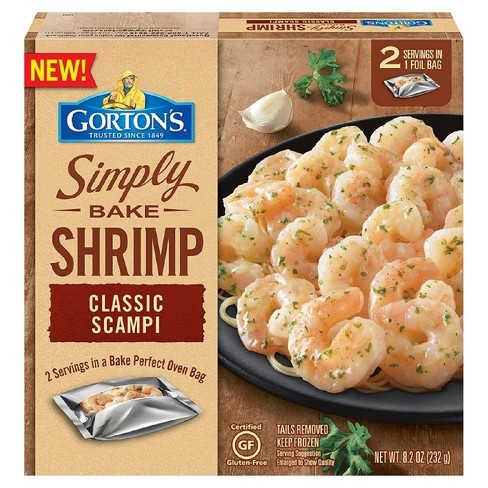 Gorton's Simply Bake Shrimp Scampi - 8.2oz - image 1 of 1