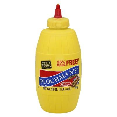 Plochman's Mild Yellow Mustard 24oz