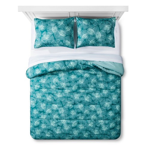 Turquoise Medallion Blooms Bed In A Bag Queen Target