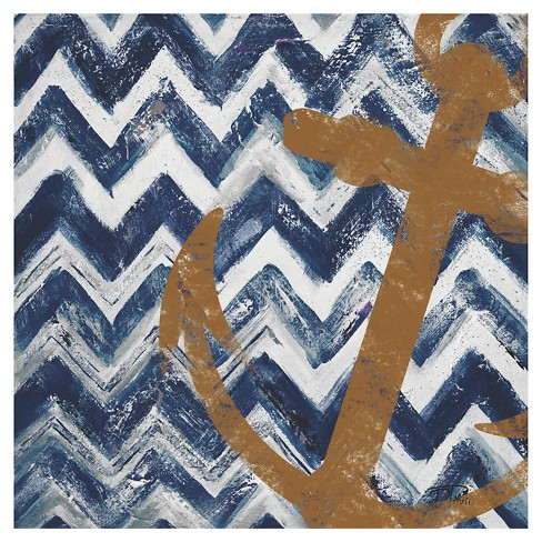 Thirstystone Nautical Chevrons Occasions Trivet - image 1 of 1