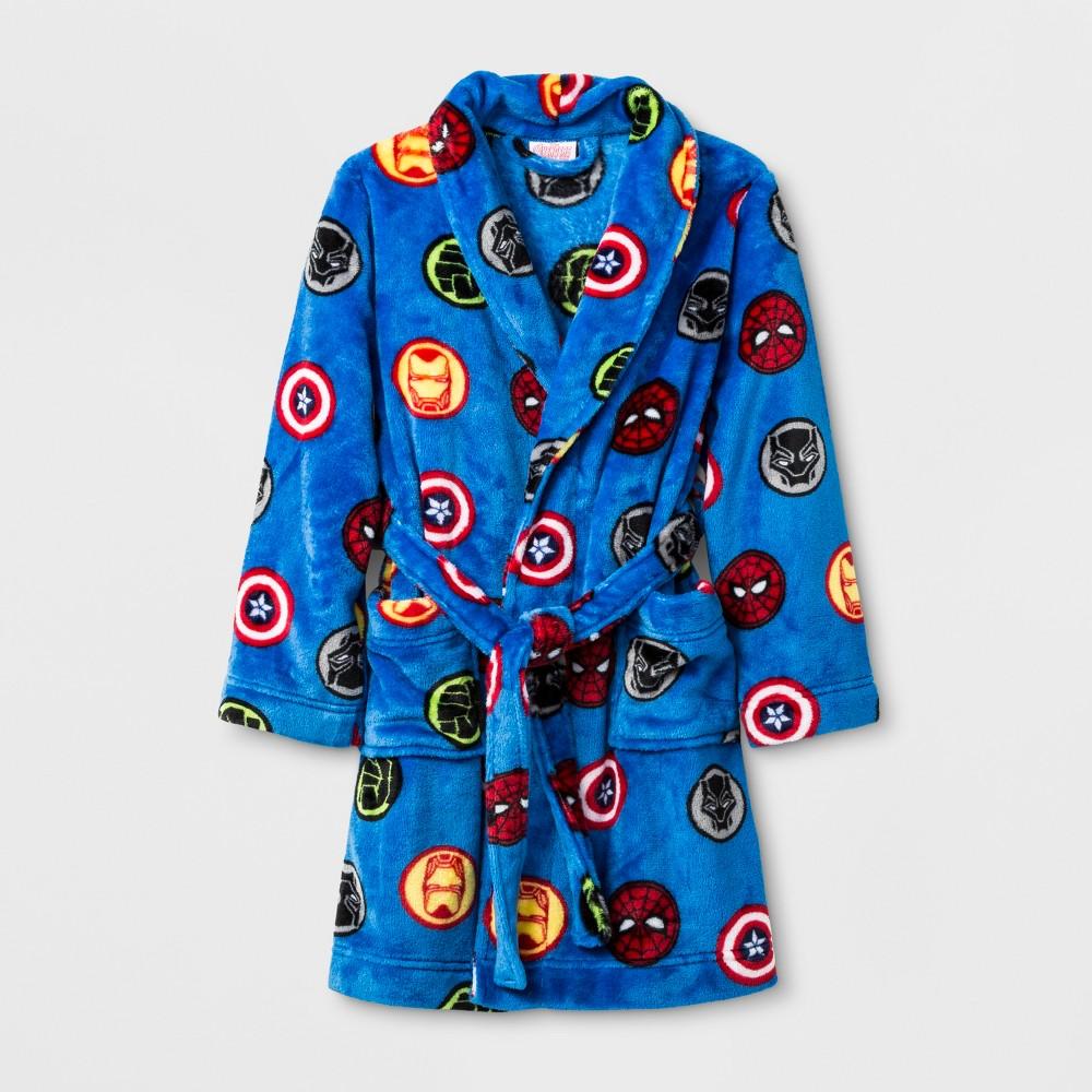 Boys' Avengers Robe - Blue 6