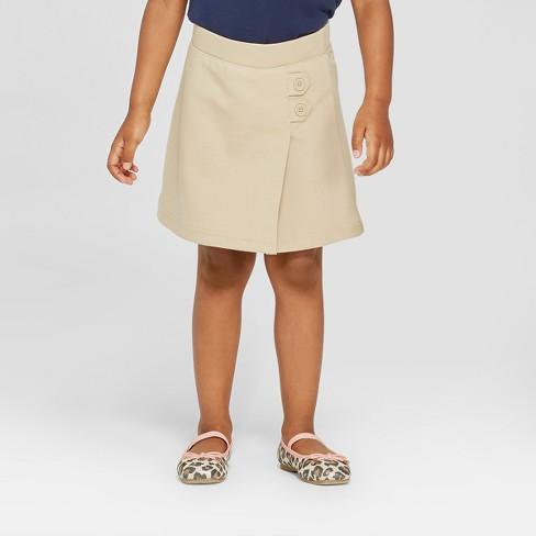 Toddler Girls' Knit Uniform Skort - Cat & Jack™ - image 1 of 3