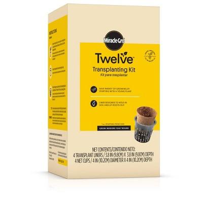 Miracle-Gro Twelve Transplanting Kit