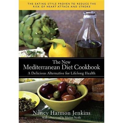 The New Mediterranean Diet Cookbook - by  Nancy Harmon Jenkins (Hardcover)