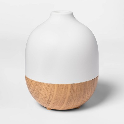 300ml Oil Diffuser White /Light Natural Woodgrain - Project 62™