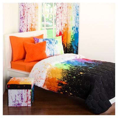 Crayola Cosmic Burst Shower Curtain Target