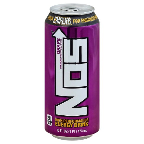 Nos High Performance Grape Energy Drink - 16 fl oz Can - image 1 of 1