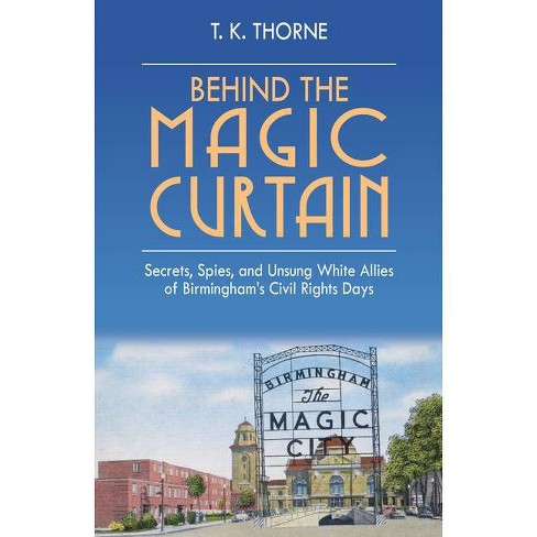 Behind the Magic Curtain - by  T K Thorne (Hardcover) - image 1 of 1