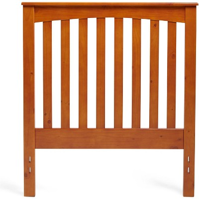 Glenwillow Home Rake Wood Headboard in Golden Oak, Full/Queen Size