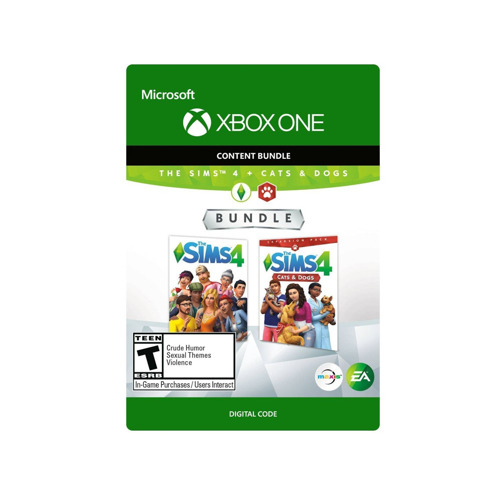 The Sims 4 + The Sims 4: Cats & Dogs - Xbox One (Digital)