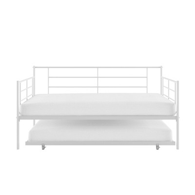 RealRooms Praxis Metal Daybed with Trundle