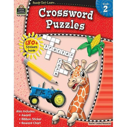 Ready-Set-Learn: Crossword Puzzles - (Paperback) - image 1 of 1