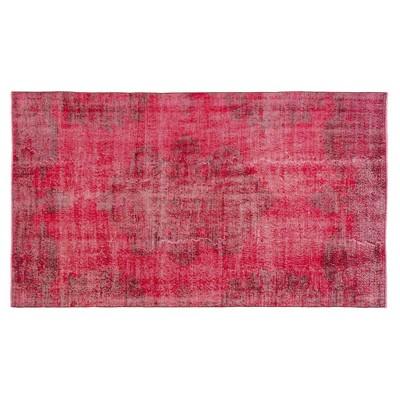 """4'9""""x8'2"""" Vintage One-of-a-Kind Bertwalda Rug Red - Revival Rugs"""