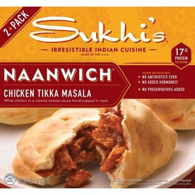 Sukhi's Frozen Chicken Tikka Masala Naanwich - 10.4oz/2ct