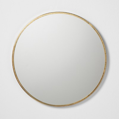 Round Mirror Gold - Hearth & Hand™ with Magnolia