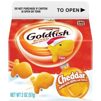 Pepperidge Farm Goldfish Cheddar Crackers - 2oz