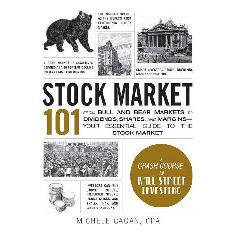Stock Market 101 - (Adams 101) by  Michele Cagan (Hardcover) - image 1 of 1