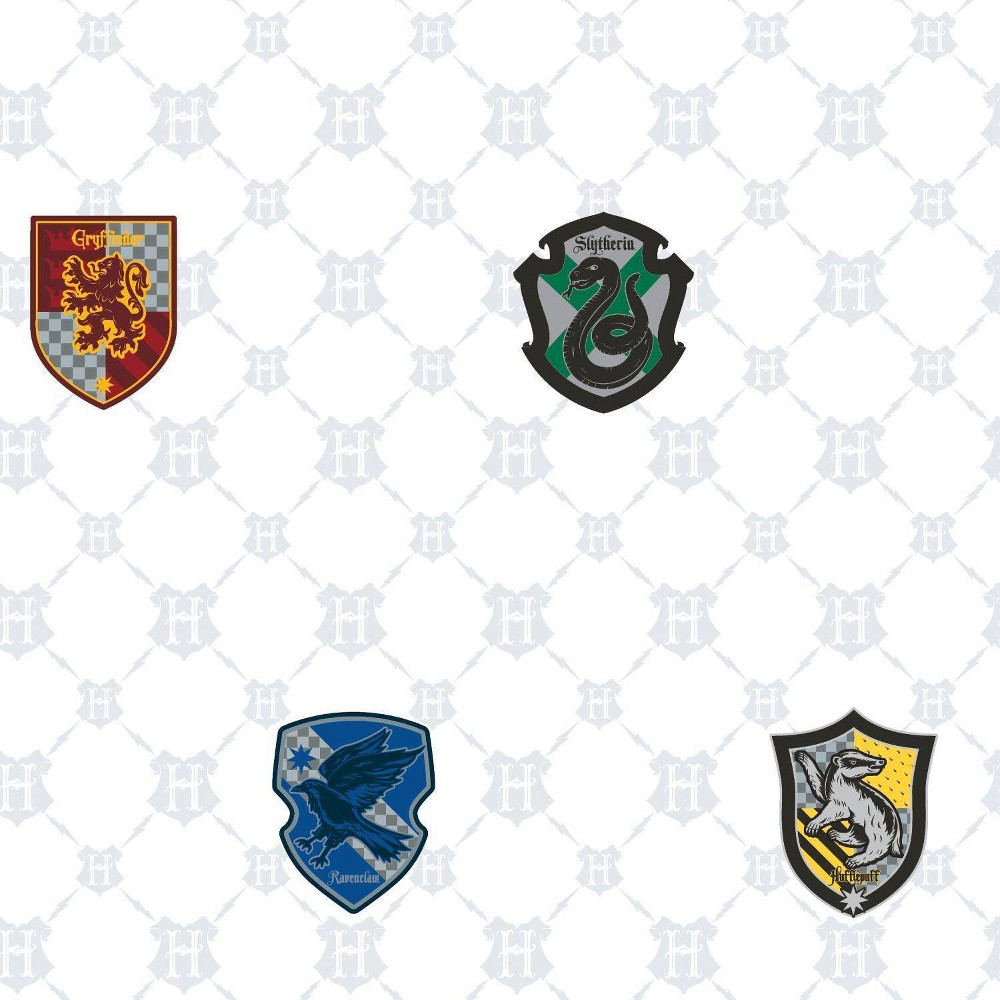 Image of Harry Potter House Crest Peel & Stick Wallpaper - RoomMates