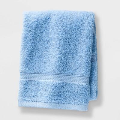 Soft Solid Hand Towel Light Blue - Opalhouse™