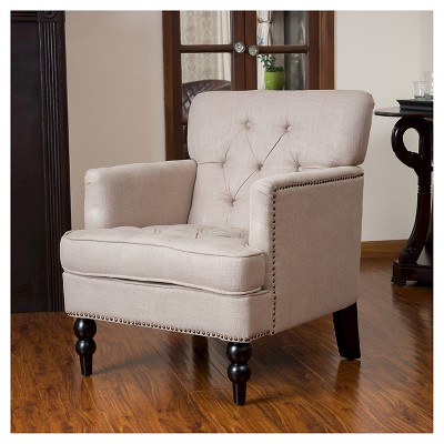 Superieur Malone Club Chair   Christopher Knight Home : Target