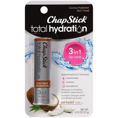 Lip Balm & Chapstick: ChapStick Total Hydration 3 in 1