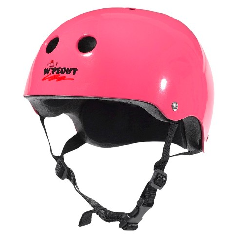 Wipeout Youth Helmet - Hot Pink - image 1 of 1