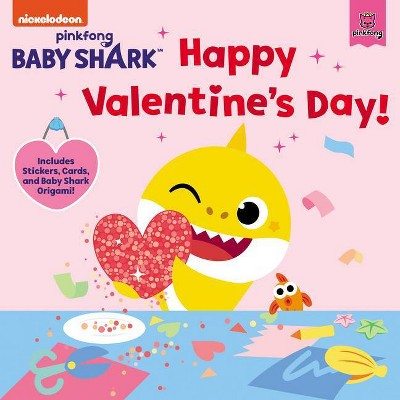 Baby Shark: Happy Valentine's Day! - by  Pinkfong (Mixed Media Product)