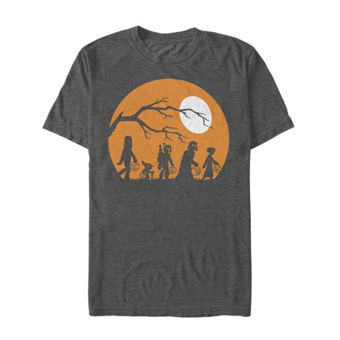 Men's Star Wars Halloween Characters Trick or Treat T-Shirt - image 1 of 4