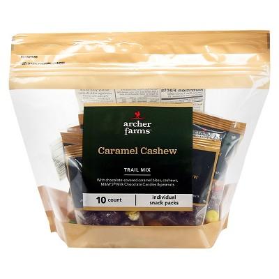 Caramel Cashew Trail Mix - 10ct - Archer Farms™