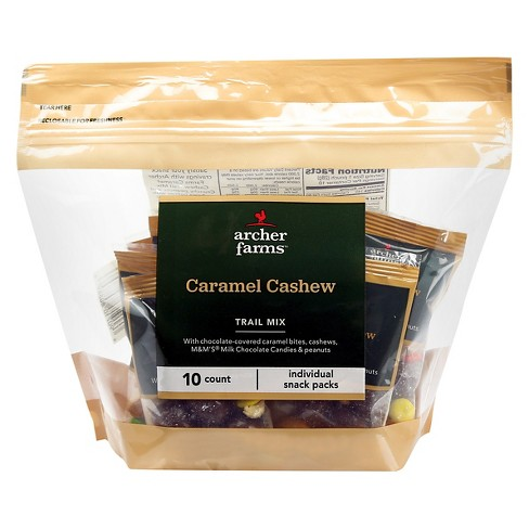 Caramel Cashew Trail Mix - 10ct - Archer Farms™ - image 1 of 1