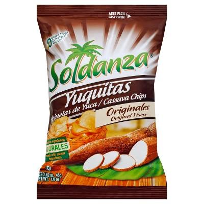 Soldanza Cassava Chips 1.6oz