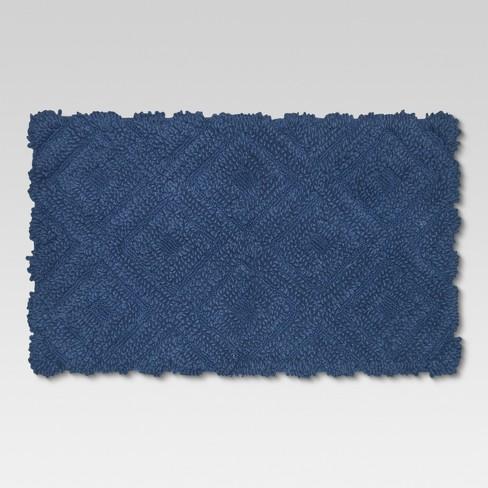 Diamond Bath Rug - Threshold™ - image 1 of 1