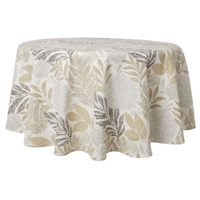 "70"" Cotton Round Hastings Tablecloth - Town & Country Living"