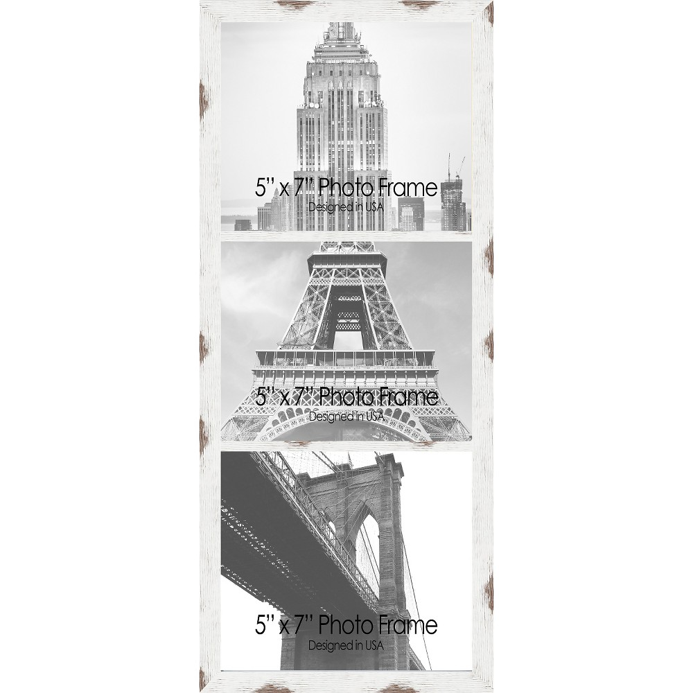 Pro Tour Memorabilia Multiple Image Frame - White, Antique White