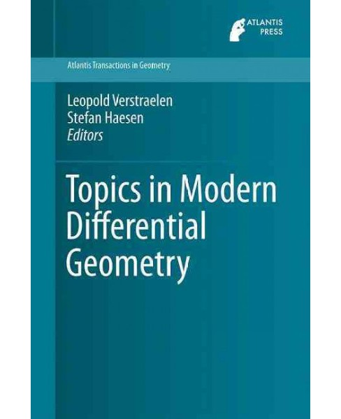 Topics in Modern Differential Geometry (Hardcover) - image 1 of 1