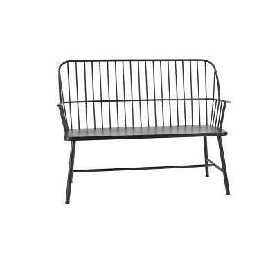 Traditional Outdoor Patio Bench - Olivia & May