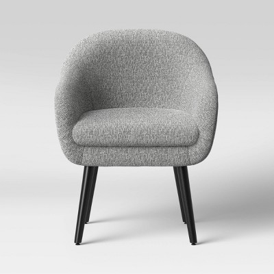 Harwell Modern Arm Barrel Chair with Metal Legs - Project 62™
