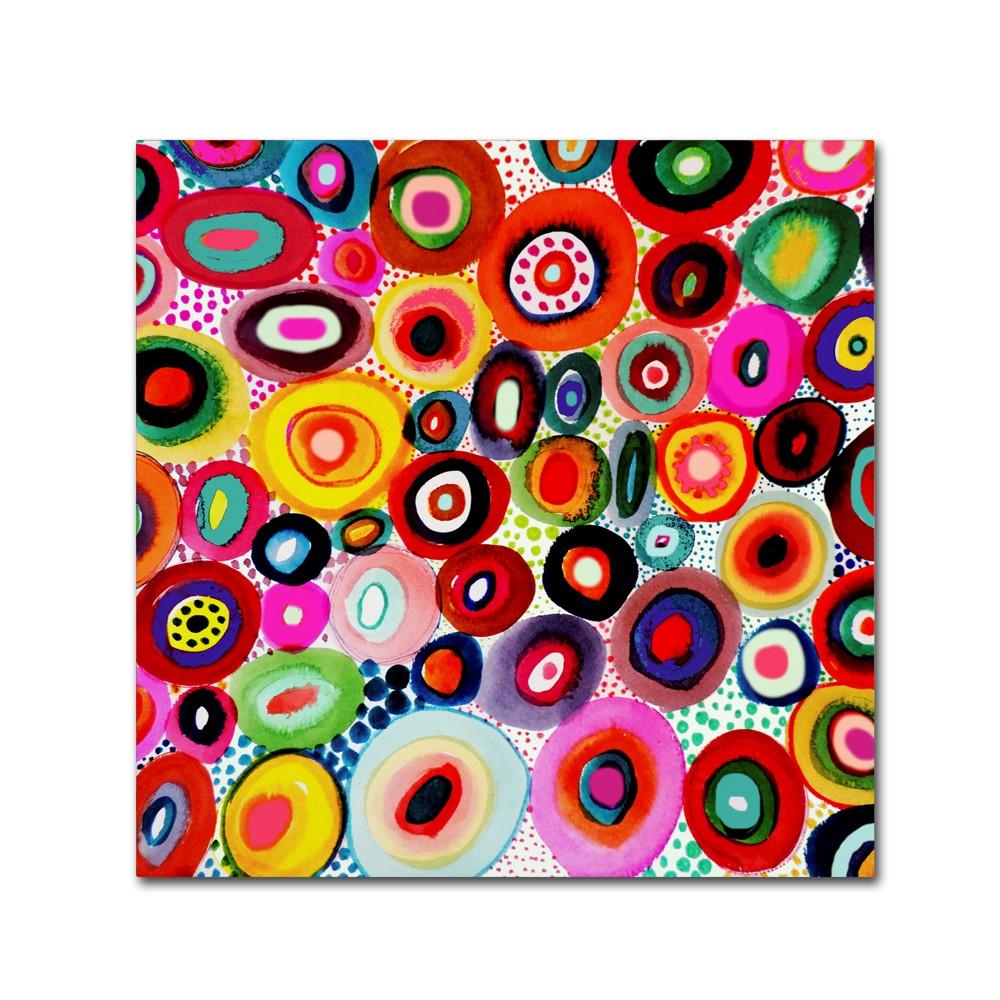 Sylvie Demers Tourbillons Canvas Art 35