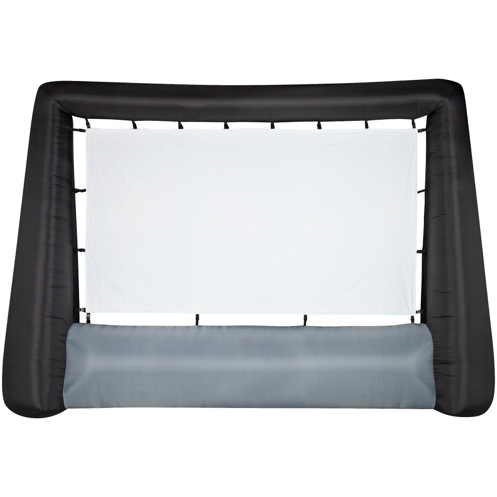 Image of Airblown Inflatable Jumbo Tron Movie Screen- 14.5', Blue & Hhite