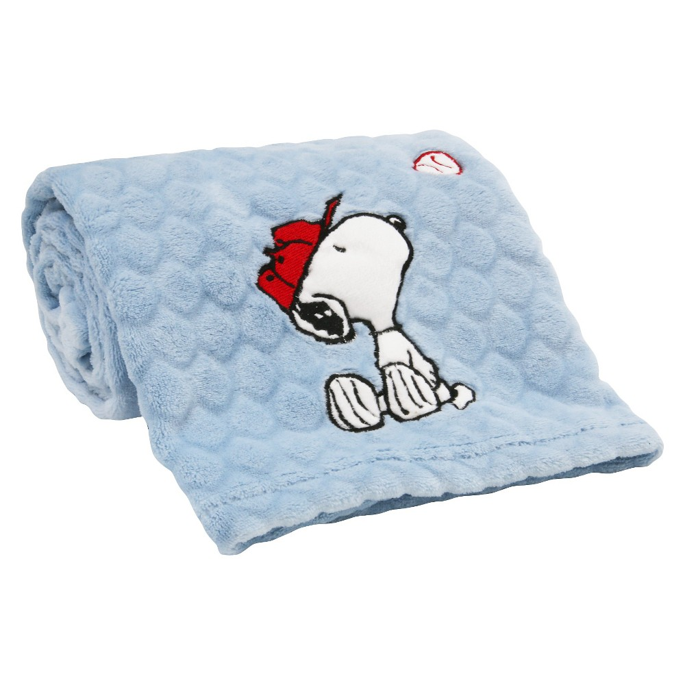 Image of Peanuts Blanket - Snoopy Sports