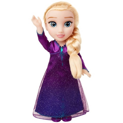 Disney Frozen 2 Into The Unknown Singing Feature Elsa Doll - image 1 of 4