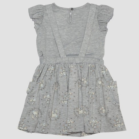 a9ffadcfbda Toddler Girls  2pc Disney Bambi Thumper Short Sleeve T-Shirt And Skirt Set  - Gray   Target