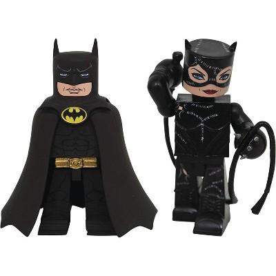 Diamond Select DC Comics 4 Inch Vinimate Vinyl Figure 2 Pack   Batman & Catwoman