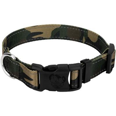 Country Brook Petz® Deluxe Woodland Camo Reflective Dog Collar