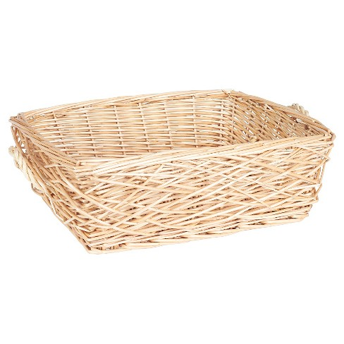 Household Essentials - Spring Bird Nest Willow Basket - Natural - image 1 of 2
