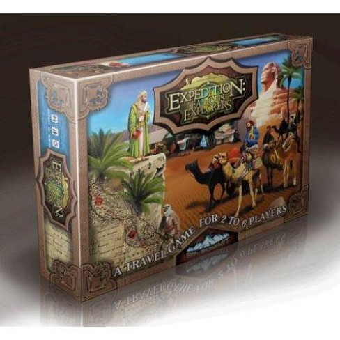 Expedition - Famous Explorers Board Game - image 1 of 1