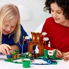 LEGO Super Mario Guarded Fortress Expansion Set Building Toy for Creative Kids 71362 - image 3 of 4