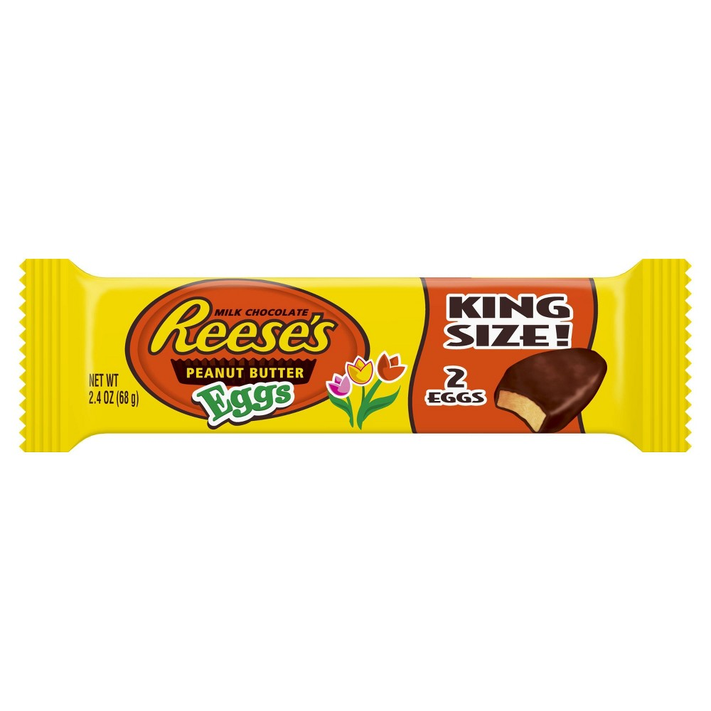 Reese's Peanut Butter Easter Egg King Size - 2.4oz